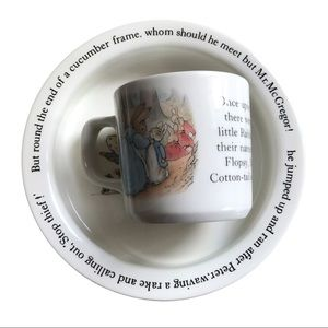 WEDGEWOOD Peter Rabbit Cup and Bowl